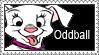Oddball Stamp by LoveAnimeAndCartoons