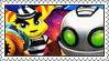 Secret Agent Clank Stamp 2 by LoveAnimeAndCartoons