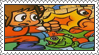 Alex Kidd in Miracle World Stamp by LoveAnimeAndCartoons