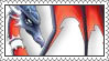 Evil Cynder Stamp by LoveAnimeAndCartoons