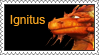 Ignitus Stamp by LoveAnimeAndCartoons