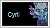 Cyril Stamp by LoveAnimeAndCartoons