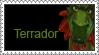 Terrador Stamp by LoveAnimeAndCartoons