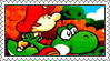 Super Mario World 2: Yoshi's Island Stamp by LoveAnimeAndCartoons
