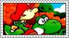 Super Mario World 2: Yoshi's Island Stamp by LoveAnimeAndCartoons