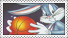 Space Jam - Bugs Bunny Stamp by LoveAnimeAndCartoons