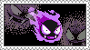 Gastly Stamp by LoveAnimeAndCartoons