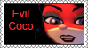 Evil Coco Stamp by LoveAnimeAndCartoons