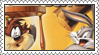 Bugs Bunny and Taz: Time Busters Stamp by LoveAnimeAndCartoons