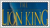 The Lion King Stamp by LoveAnimeAndCartoons