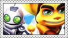 Ratchet and Clank Collection Stamp by LoveAnimeAndCartoons