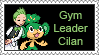 Gym Leader Cilan Stamp by LoveAnimeAndCartoons