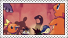 Pokemon Mystery Dungeon: Red Rescue Team Stamp by LoveAnimeAndCartoons