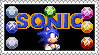 Genesis Sonic Stamp by LoveAnimeAndCartoons