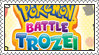 Pokemon Battle Trozei Stamp by LoveAnimeAndCartoons