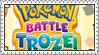 Pokemon Battle Trozei Stamp by LoveAnimeAndCartoons