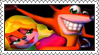Tawna x Crash Stamp by LoveAnimeAndCartoons