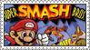 Super Smash Bros. Stamp by LoveAnimeAndCartoons