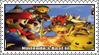 Super Smash Bros. Melee Stamp by LoveAnimeAndCartoons