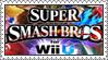 Super Smash Bros. (Wii U) Stamp by LoveAnimeAndCartoons