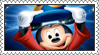 Wizard Mickey Stamp by LoveAnimeAndCartoons