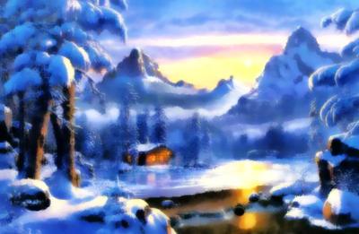 Imitation of Watercolors #4 by likoj