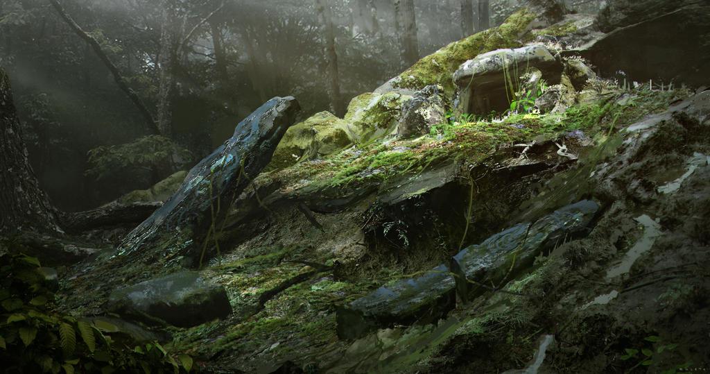 Izila Ruin Site by B-Zuleta