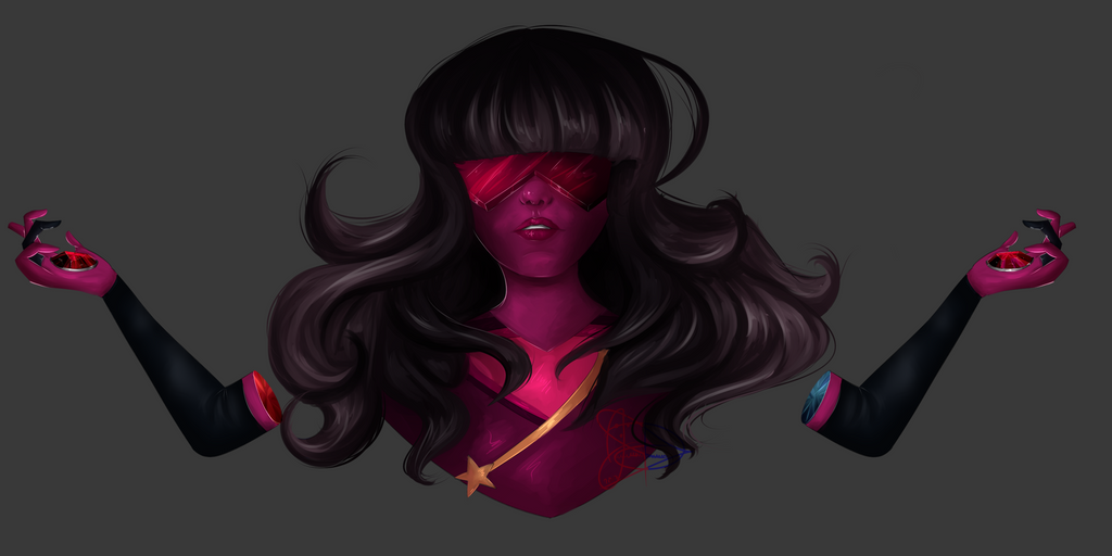 Hello, beautiful people! Another week, another speedpaint! Today's speedpaint is about Garnet (Pilot Design) Tell me if you are enjoying the speedpaints so far ^-^ _____ SPEEDPAINT LINKS:  Voi...