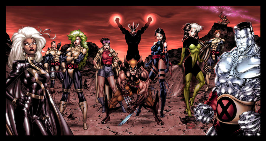 Part 14 / 9 - Page 2 X_Men_by_Jim_Lee__My_tribute__by_iergoth