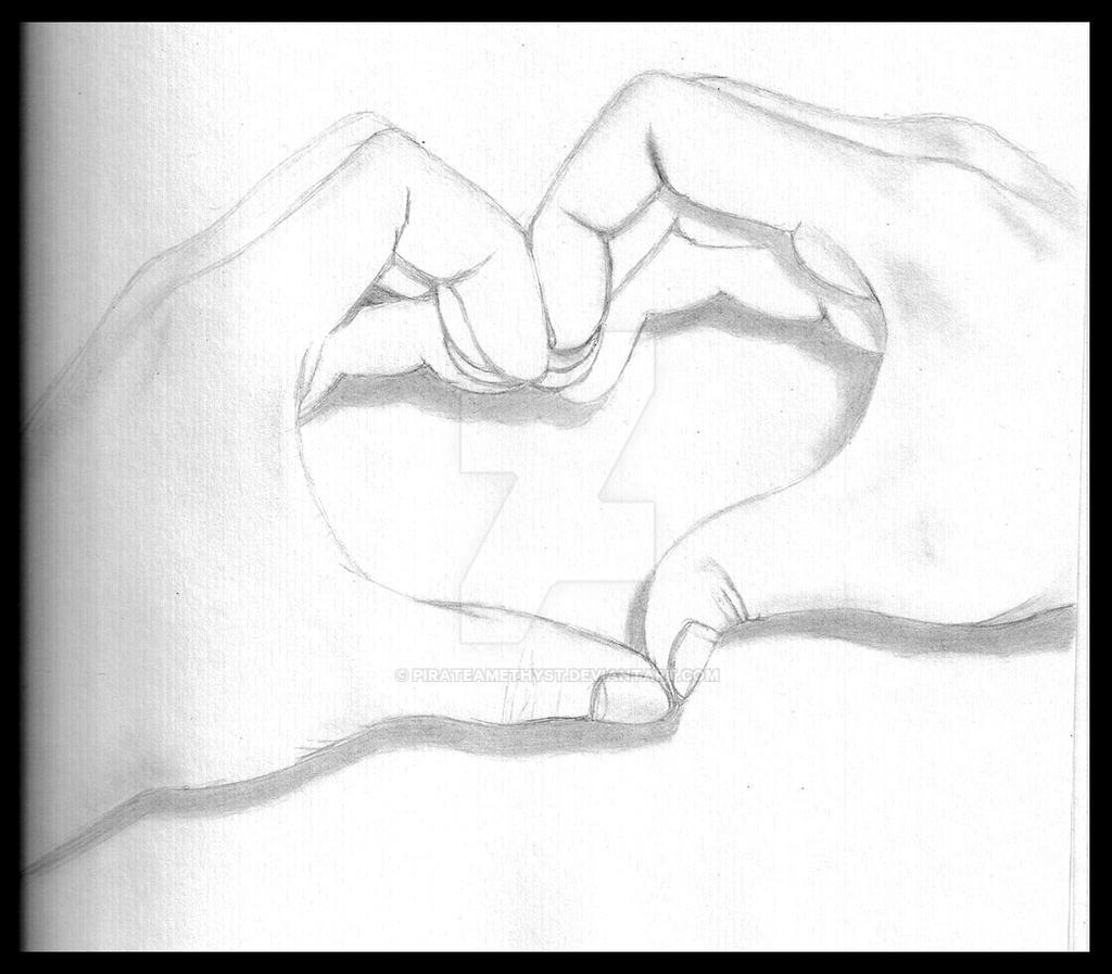Uncategorized Heart Hands Drawing two hands a heart by pirateamethyst on deviantart pirateamethyst