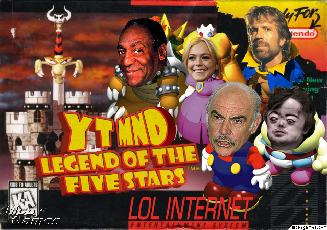 YTMND:Legend of the Five Stars by ArcZero