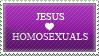 jesus_loves_homosexuals.stamp by ArcZero