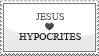 jesus_loves_hypocrites.stamp by ArcZero