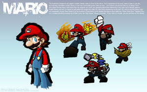 Super Smash Bros: Mario by ArcZero
