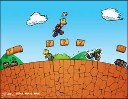 Super Mario Bros. 1 by ArcZero