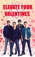 Big Time Group: Valentines by ElijahVD