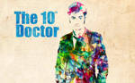 10th Doctor: Watercolor