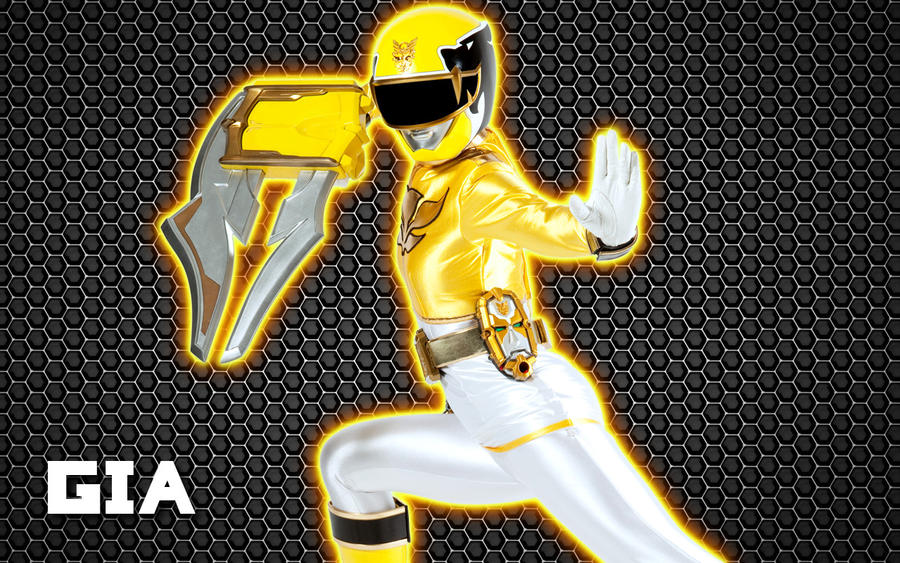 yellow power ranger megaforce - photo #7