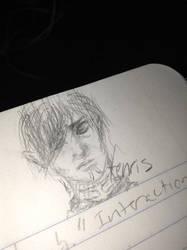 Fenris doodle by TypeWriter22