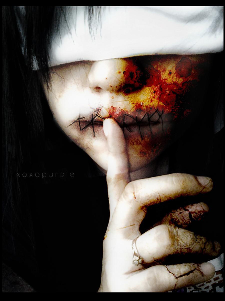 Silence by xoxopurple