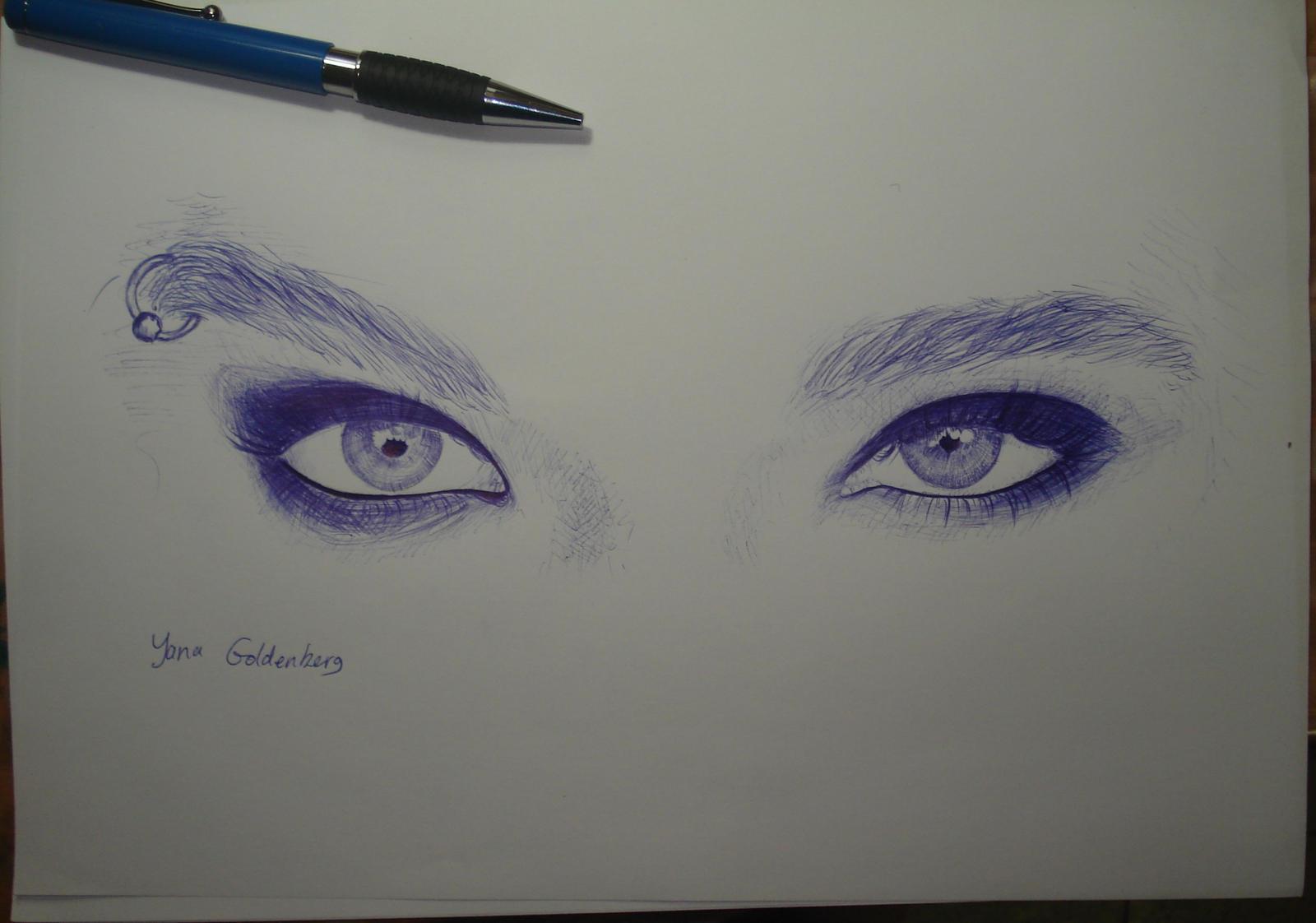 Bill's eyes by ItsMyUsername