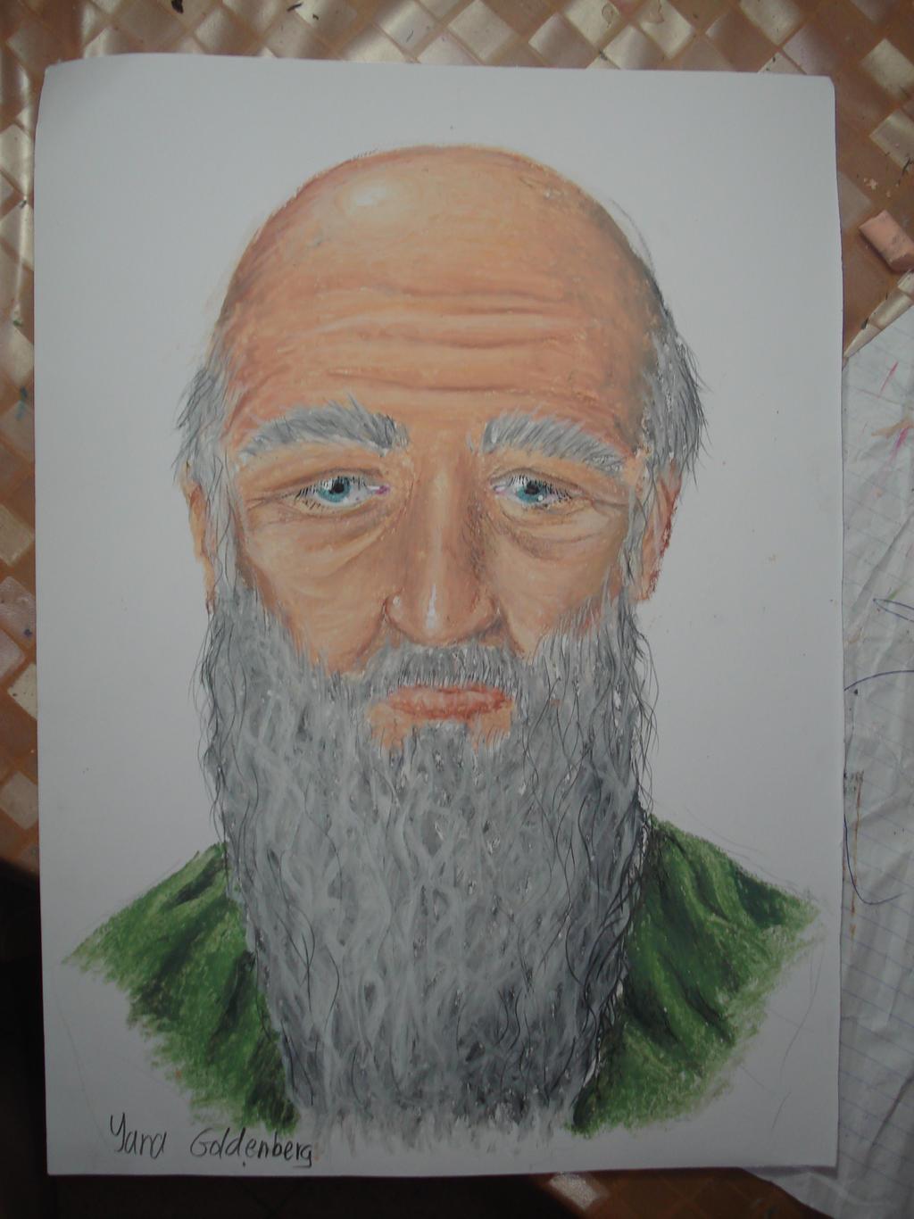 Old man by ItsMyUsername