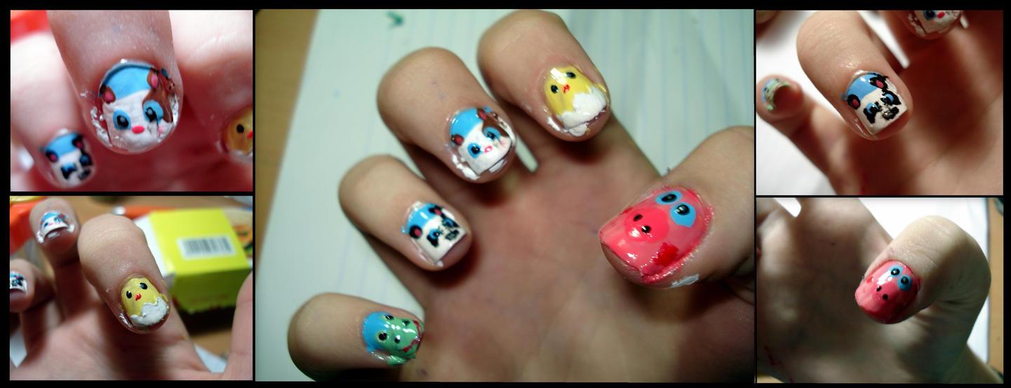 Animsls nails#2 by ItsMyUsername