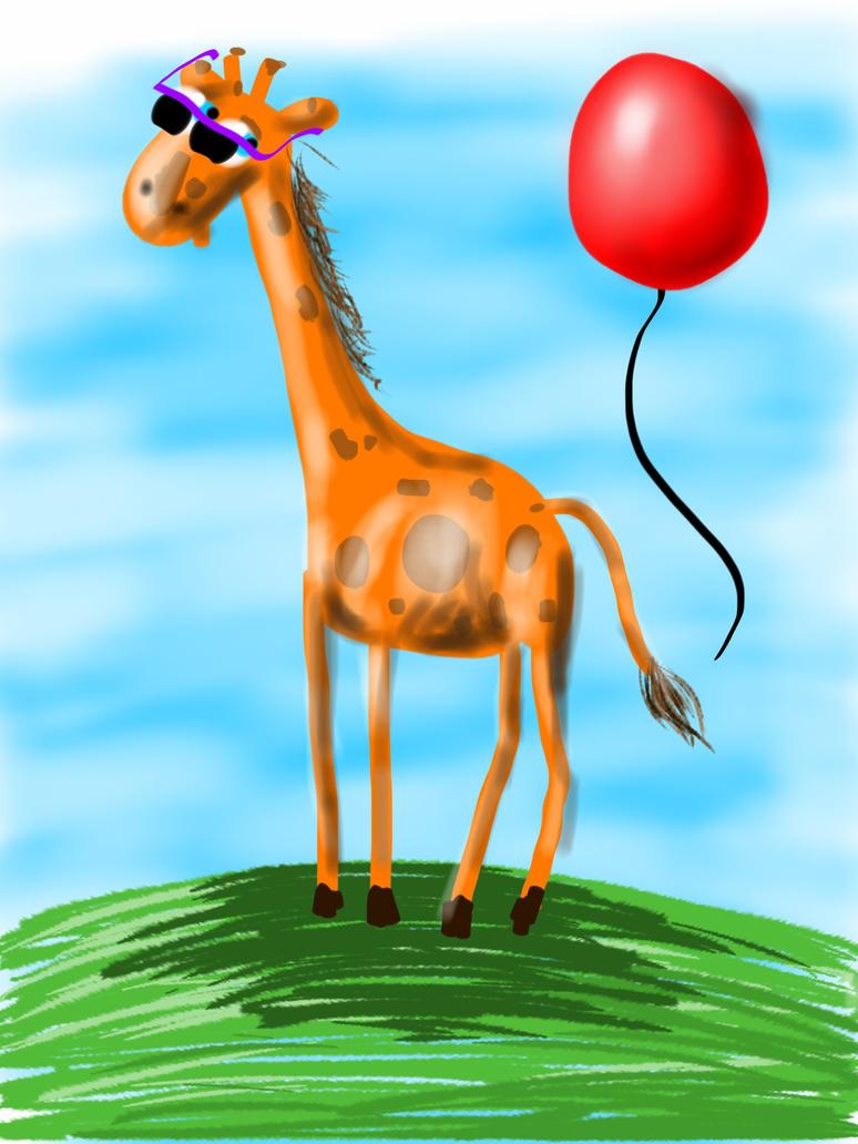 Diglideedoo the giraffe by ItsMyUsername