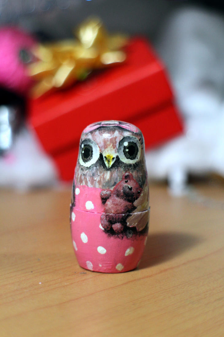 Girl Owl front by ItsMyUsername