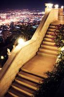 Haifa. Night. by Ukiko