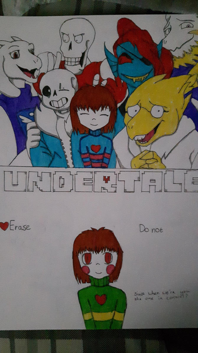 Pacifist Or Genocide [Undertale Spoilers] by xRainSuicidex
