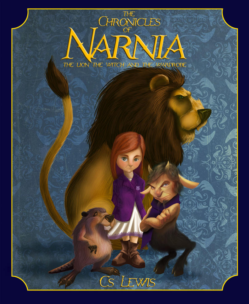 Narnia The Lion The Witch And The Wardrobe Characters Narnia book cover by m...