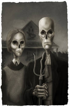 American gothic 2.0 or the Death of Farming