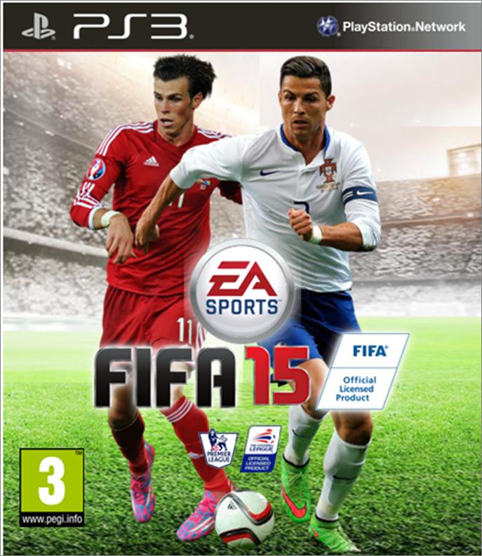 Fifa 16 Ronaldo Cover